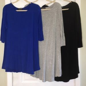 """All For You"" 3x Long Tunic Tops"